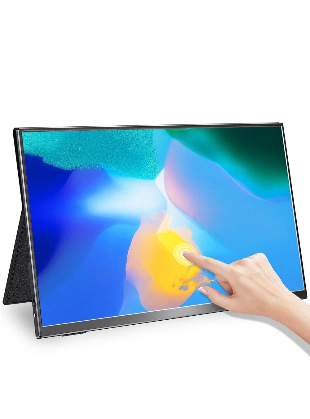 UPERFECT – écran tactile Portable 15.6 pouces, 1080P, pour jeux vidéo, sRGB, 100% couleurs, léger, grand Angle de vision