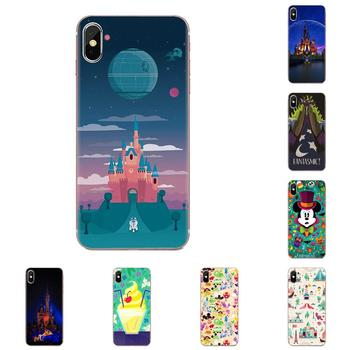 Style Design Mouse Minnie Parks Cartoon For Samsung Galaxy A10 A20 A20E A3 A40 A5 A50 A7 J1 J3 J4 J5 J6 J7 2016 2017 2018 image