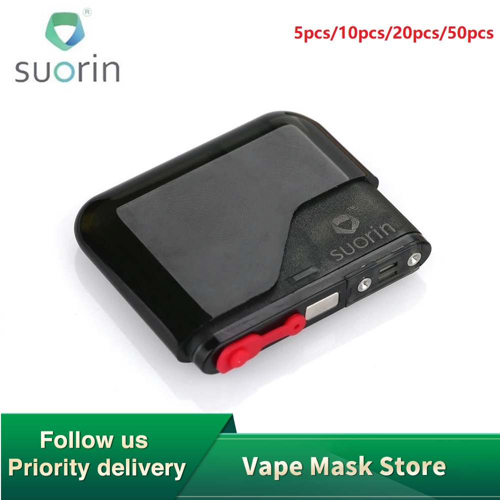 5pcs 50pcs Original Suorin Air Cartridge With 2ml Capacity & 1.2ohm Resistance For Suorin Air Kit E-cig Replacement Cartridge