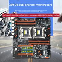 X99 Dual CPU Motherboard Stable Fast Computer Circuit Board High-speed Connection For Home Office
