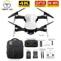 2020 X12 GPS Drone with WiFi FPV 4K HD Camera Brushless Motor Foldable Quadcopter Anti shake 3 Axis Gimble drones Vs H117s SG906