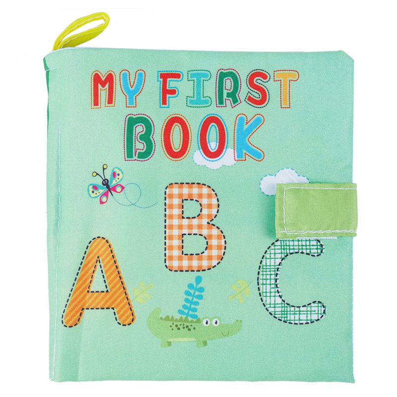 Soft Baby Cloth Book Early Educational Newborn Crib Toys For 0-36 Months Infants #2