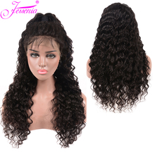 Brazilian Deep Wave 13*4 Lace Front Human Hair Wigs 150 Density Pre Plucked For Black Women