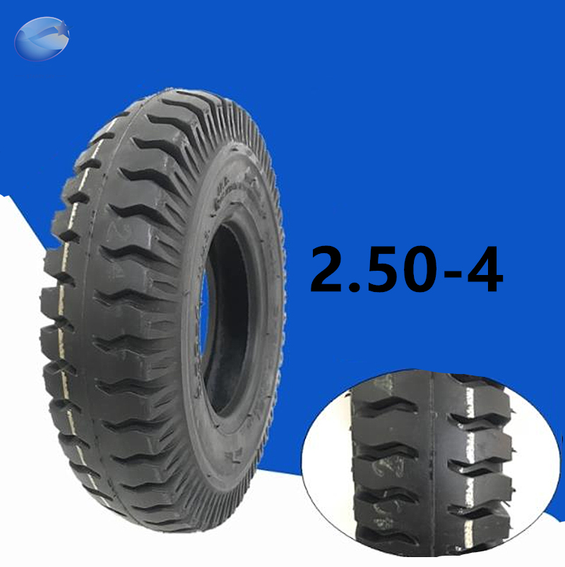 CST <font><b>2.80/2.50</b></font>-<font><b>4</b></font> Tire Inner Tube <font><b>2.80/2.50</b></font>-<font><b>4</b></font> Tyre For Gas Electric Scooter ATV Elderly Mobility Utility Dolly Hand Truck Tire image