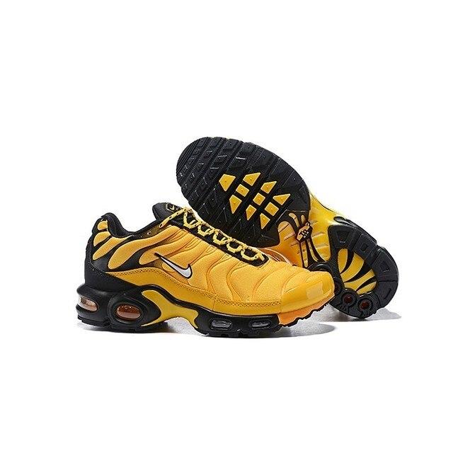 Nike TN Air Max Plus fréquence Pack jaune noir hommes ...