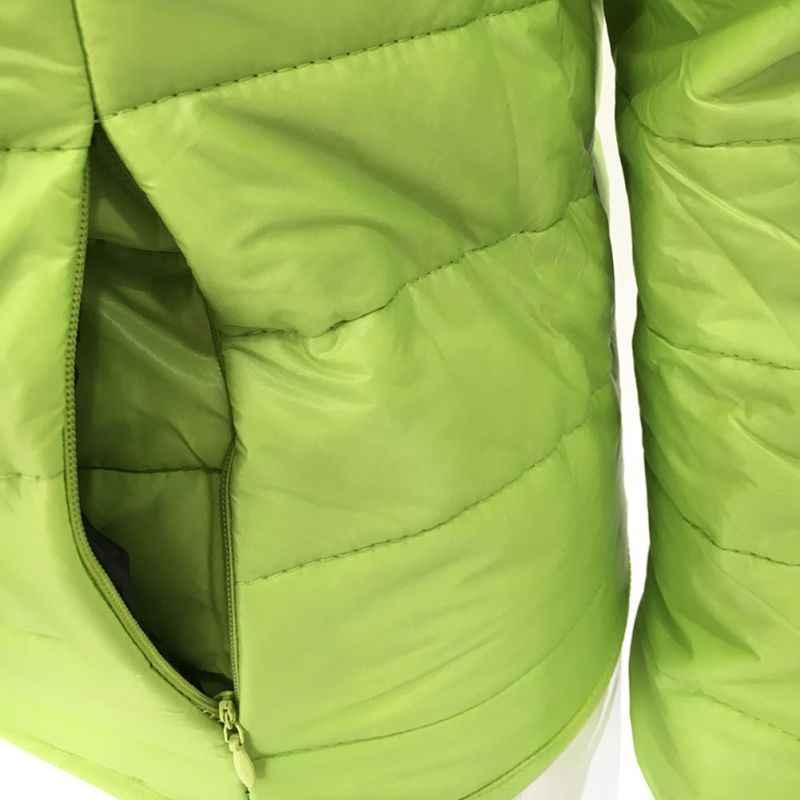 ผู้หญิงลงเสื้อ Ultra-light PLUS ขนาด 2019 ฤดูใบไม้ร่วงฤดูหนาว Slim สั้นอบอุ่นสีขาวเป็ดลงเสื้อผู้หญิง \\\'s Outerwear ใหม่!