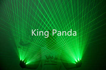Green light 4pcs laser heads gloves laser man show projector green beams dj led gloves party wears performance costume dance