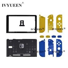 IVYUEEN – coque de remplacement pour Console Nintendo Switch, édition limitée, étui pour Nintendo Switch JoyCon Joy Con, plaque frontale