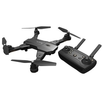 Skytech TK117 2.4G Foldable FPV Drone 4CH Optical Flow Drone RC Aircraft Gesture Photo Drone with LED Light RC Helicopter