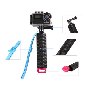 Image 3 - Waterproof Floating Hand Grip Underwater Selfie Stick for Gopro Hero Session Pro Float Handle Diving Action Camera