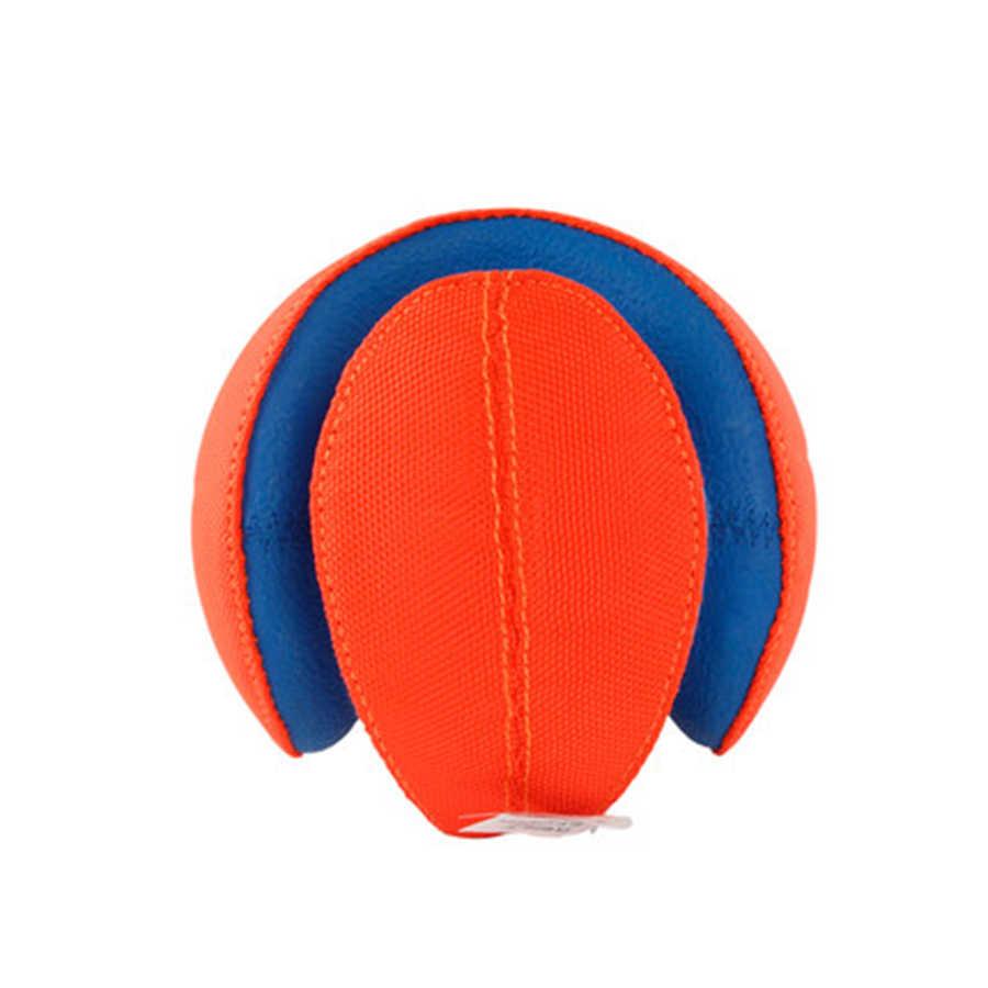 Caoutchouc chien jouet balle lanceur interactif doux solide élastique balles Durable exercice Cachorros nouveauté animaux Rugby Speelgoed BB50