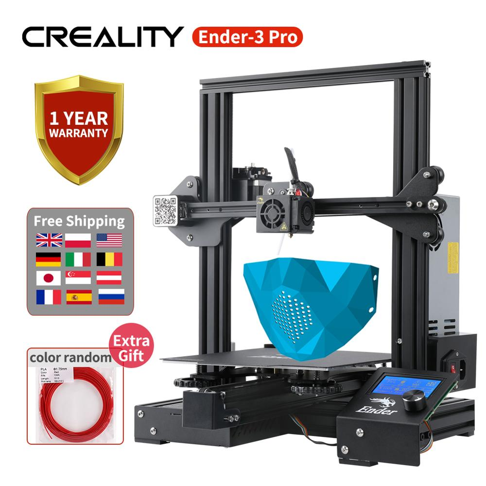 Ender-3 Pro CREALITY 3D Printer DIY Kit Ender-3 PRO Print Mask Magic Cmagnet Build Surface 220*220*250MM With Brand Power Supply