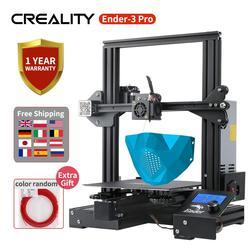 Ender-3 Pro CREALITY 3D impresora DIY Kit Ender-3 PRO máscara impresa Magic Cmagnet construir superficie 220*220*250MM con fuente de alimentación de la marca