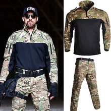 US Army Military Airsoft Combat Uniform Frog Suit Long Sleeve Men Suits Outdoor Tactical Sport Hunting Clothes брюки tactical frog tactical frog mp002xm0qru2
