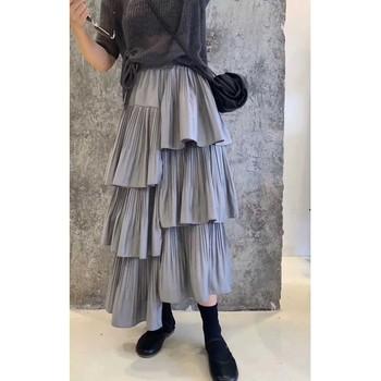 2020 nowych moda kobiet spódnice kobiet spódnice zimowe #8802 spódnice wiosna tanie i dobre opinie Octan Poliester CN (pochodzenie) A-LINE NONE LC8802 Naturalne Stałe Na co dzień Połowy łydki