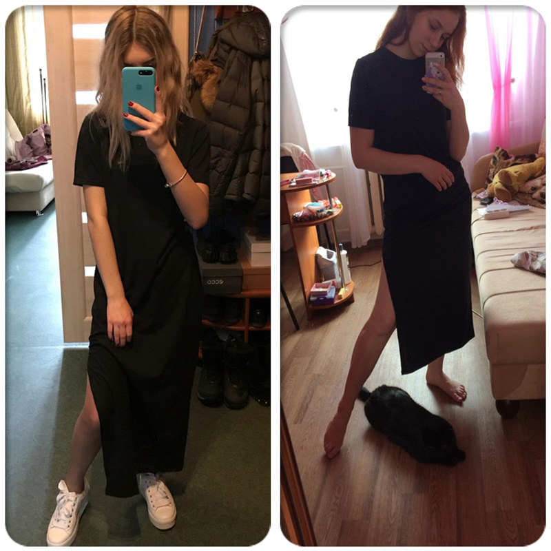 H2bd8e406c4a247068326db9e452ddfa7h - Maxi T Shirt Dress Women Summer Beach Sexy Party Vintage  Bodycon Casual Korean Style Cotton Home Black Long Dresses Plus Size