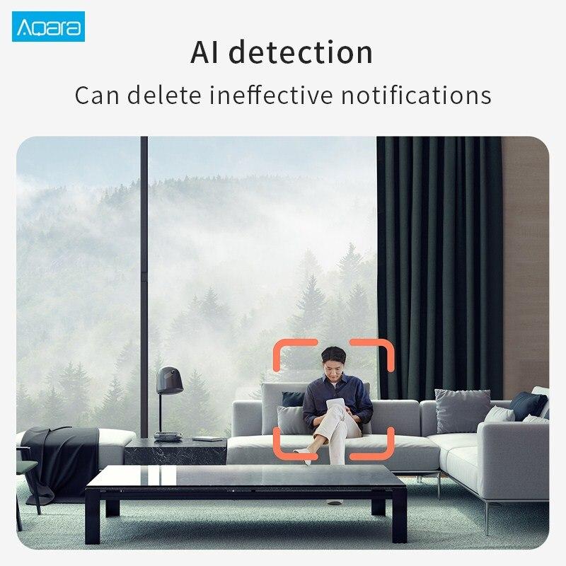 Новый Aqara G2H смарт-камеры ночного видения 1080p шлюз издание ZigBee и WiFi домашней безопасности камеры поддержка Яблока домашняя приложение