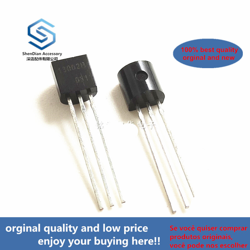 20pcs 100% Orginal New 3DD13002B 13002B 0.8A/400V TO-92 NPN Transistor