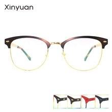 M007 оправа для очков женские металлические очки мужские прозрачные
