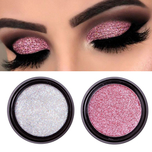 14 Color Metallic Shimmer Eyeshadow Waterproof Nude Eye Shadow Sequins Pigment L