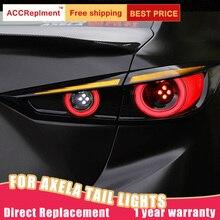 Taillight Assembly for Mazda 3 Axela Sedan LED sequential turn signal LED running light LED brake light LED reverse light 1 Pair
