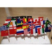 3,5 см мини национальный флаг, Швейцария, Греция, Швеция, Англия, Ирландия, Норвегия, Дания, Бельгия, Италия, Испания, Германия, баннеры Z270