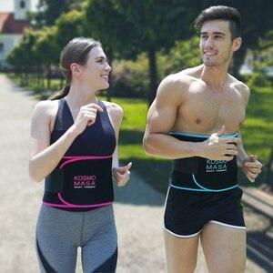 Image 4 - Taille Trimmer Voor Mannen Slimmer Zweet Riem Voor Vrouwen Taille Trainer Voor Gewichtsverlies Maag Wrap Band Body Cincher Vet buik Band