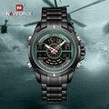 NAVIFORCE Мужские кварцевые часы Топ люксовый бренд водонепроницаемые деловые мужские часы военные армейские модные мужские часы Relogio Masculino