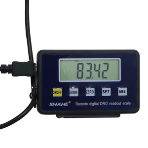Image 4 - 0 150mm Digital Scales Remote Digital Table Readout Scale for Bridgeport Mill Lathe Linear Ruler with Base