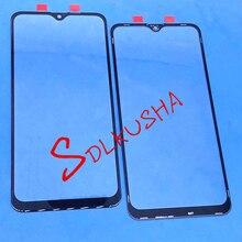 10 adet ön dış cam ekran lensi için yedek dokunmatik ekran Samsung Galaxy A10S A107 A107F A107DS A107FN A107G A107GN