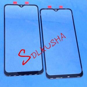 Image 1 - 10 adet ön dış cam ekran lensi için yedek dokunmatik ekran Samsung Galaxy A10S A107 A107F A107DS A107FN A107G A107GN