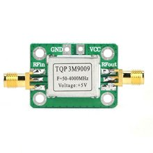 גבוהה ליניארי RF בפס רחב נמוך רעש מגבר עם מגן TQP3M9009 רחב הפעלה תדר טווח קבוע רווח הגברה