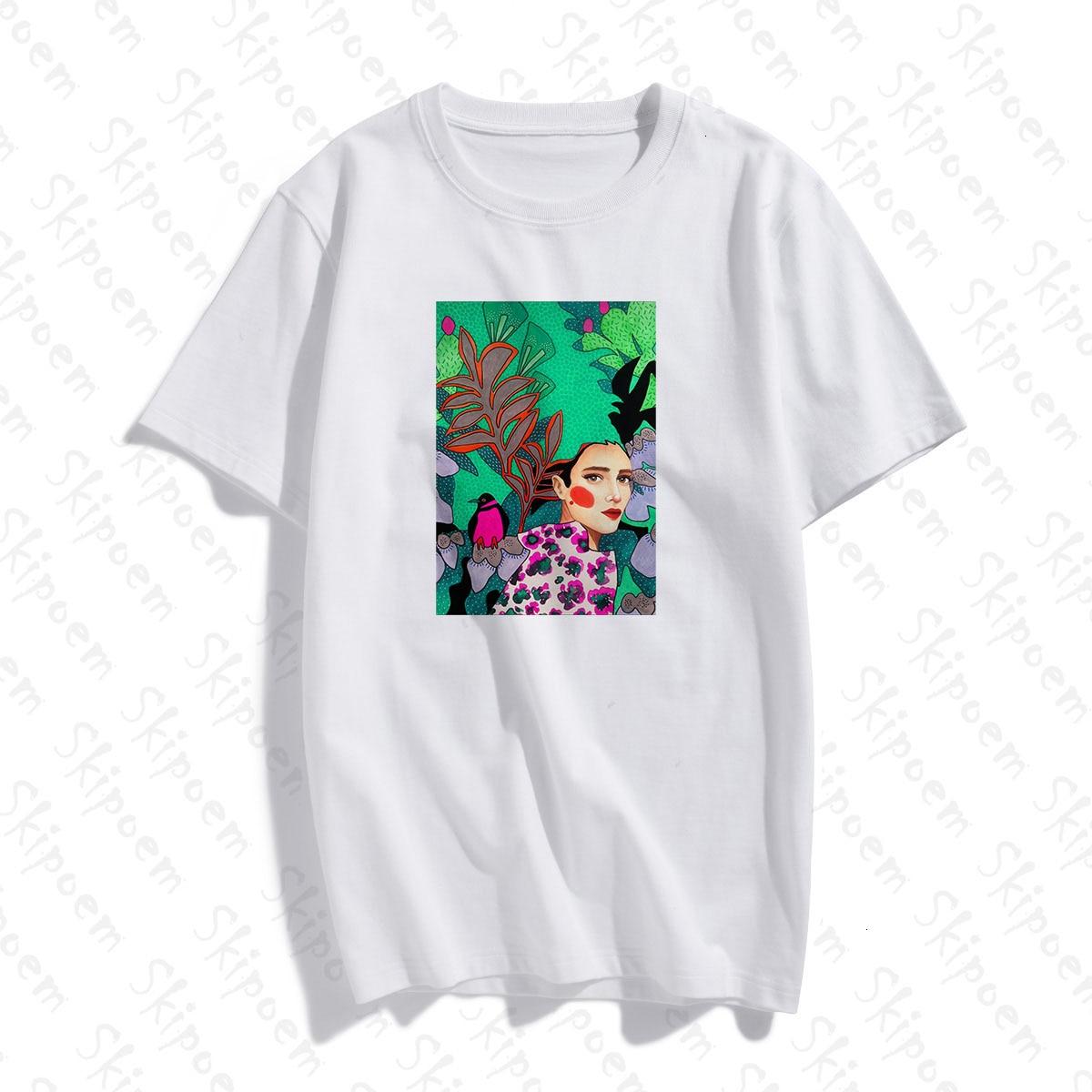 Estilo nórdico abstracto chica Londres arte mujeres camiseta estética Punk gótico Vintage algodón manga corta de talla grande Ropa Camisetas Camiseta con letras de amigos, camiseta de moda de verano para mujer con dibujos estéticos de amigos, pantalón corto informal de manga corta, graciosas camisetas coreanas para mujer