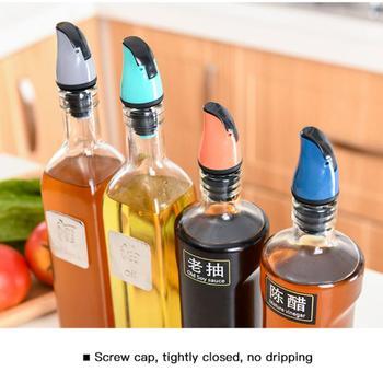 Gravity Induction automatyczne otwieranie i zamykanie akcesoriów kuchennych korek do butelki wina uniwersalna butelka oleju korek wlewu Hot tanie i dobre opinie Aihogard CN (pochodzenie) Ekologiczne Na stanie ABS+ Silicone CE UE Oil Bottle Plug CW281876 Dropshipping 7*3 5*1 4cm