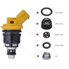 4 set Subaru FORESTER IMPREZA LEGACY OUTBACK Fuel Injector Repair Seal Kit 565cc