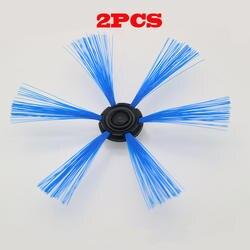 2 шт. подметания робот для Philips FC8603 FC8700 FC8710 FC8810 FC8820 FC8066 боковая щетка круглая щетка. Тематические товары про рептилий и земноводных кисть