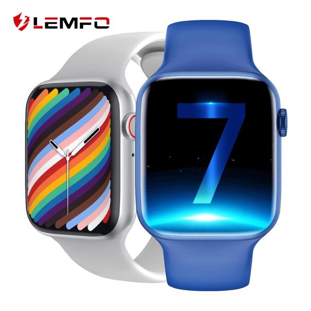 LEMFO IWO 13 Pro W37 Smart Watch Men Women 2021 Bluetooth Call Custom Dial Smartwatch better than Dt100 W46 HW22 HW16 smartwatch 1