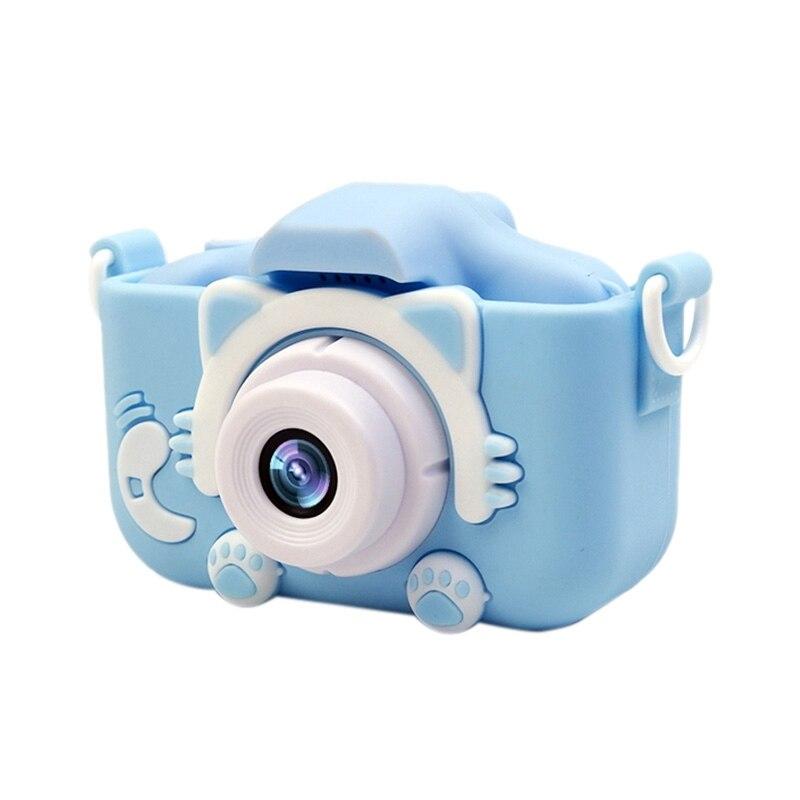 2.0 Inch Screen Kids Camera Mini Digital 1920x1080P Photo Children Camera With 8G TF Card 600 MAh Polymer Lithium Battery Toys G