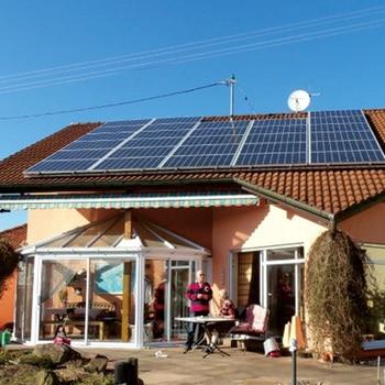 300W 600W 900w 1200w 1500w 36v Solar Panel 220v Polycrystalline Solar Power System For Home Roof Boat Marine Yacht RV Motorhome