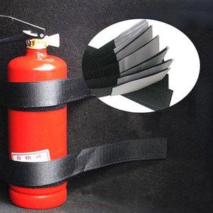 Image 1 - 4 ชิ้น/เซ็ตรถTrunk Organizerเครื่องดับเพลิงMountสายรัดกระเป๋าเก็บเทปยึดวงเล็บผ้าพันแผลสติกเกอร์สายรัด