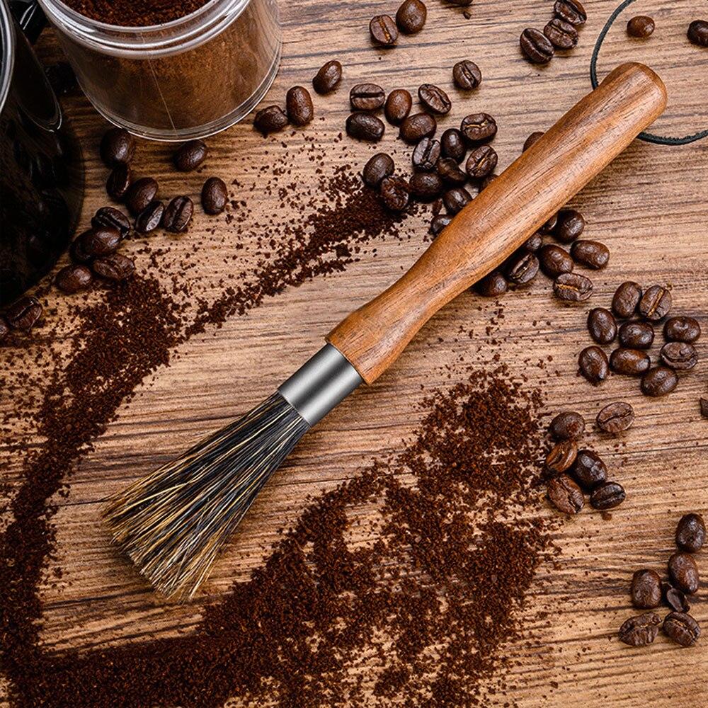 1 шт., кофемолка с деревянной ручкой