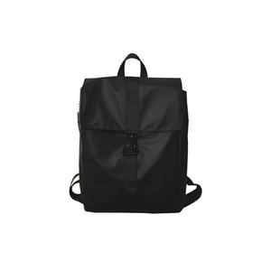 Image 2 - حقيبة ظهر نسائية رائعة من قماش أكسفورد للجنسين حقيبة ظهر ذات جودة عالية حقيبة بسيطة مقاومة للمياه حقيبة يومية متينة باللون الأسود والذهبي