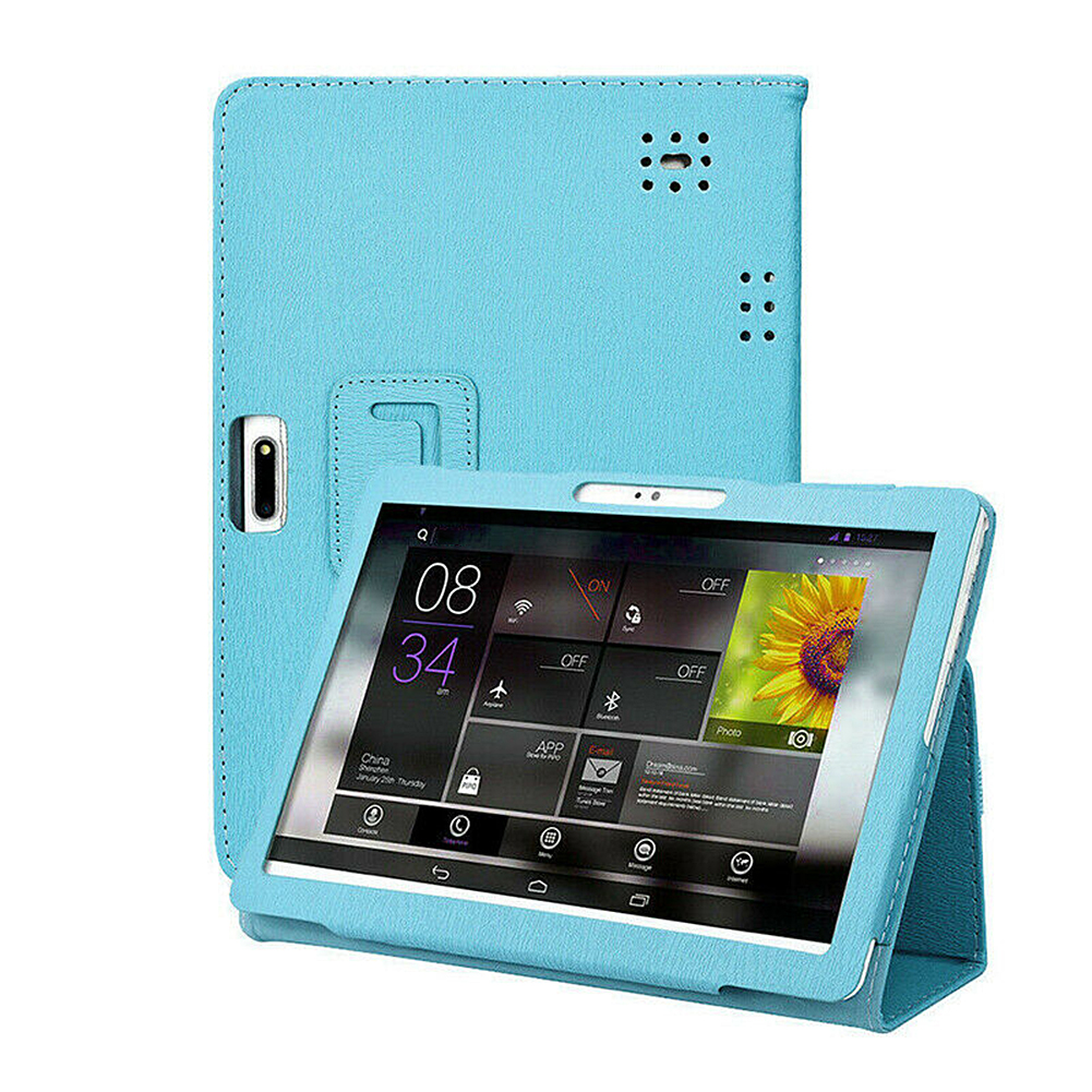 Universal Protection Cover Leather Case For 10 10.1 Inch Android Tablet PC Foldable Tablet Cases Protective Cover New