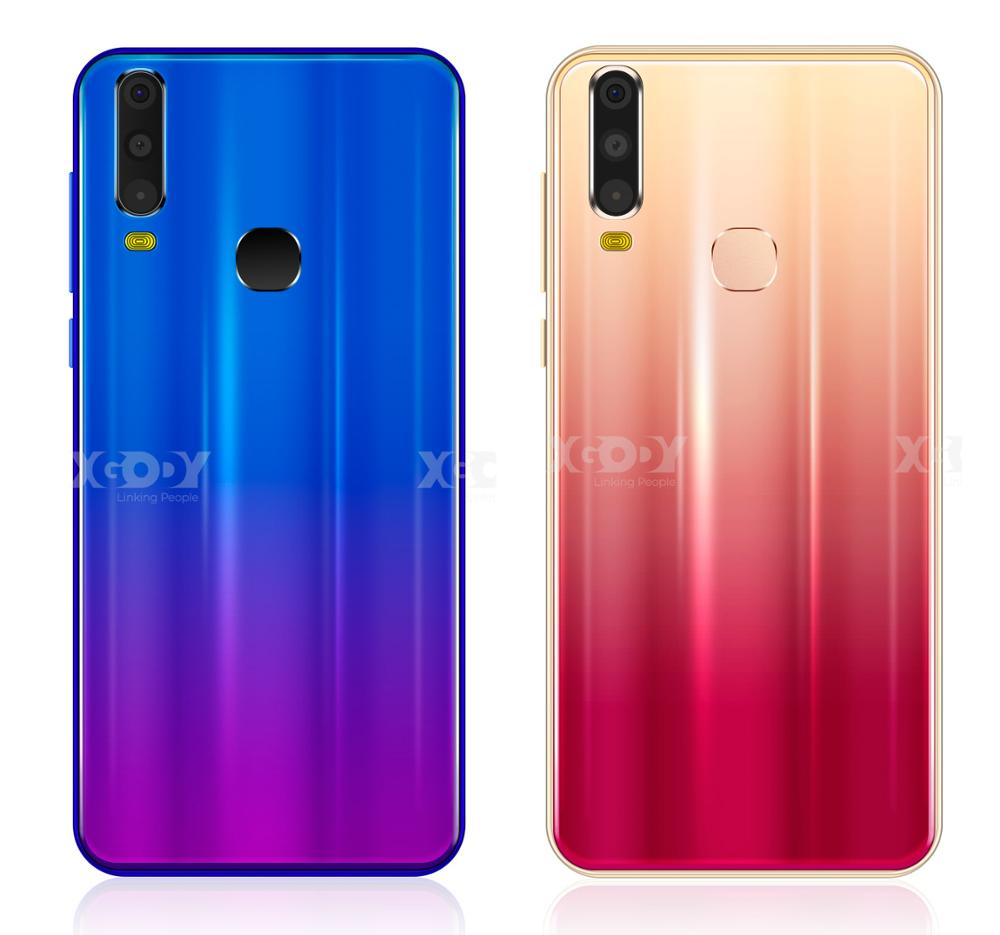 "XGODY 6"" 18:9 3G Smartphone A70 Android 8.1 Dual SIM Celular 1GB+4GB MTK6580 Quad Core GPS WiFi 5MP Camera 2800mAh Mobile Phone"