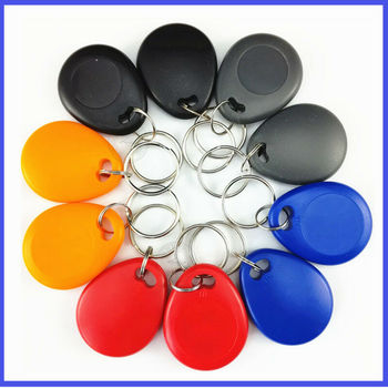 125kHz Keyfobs Proximity Fob Works With Prox Key 1346 26-Bit H10301/100pcs