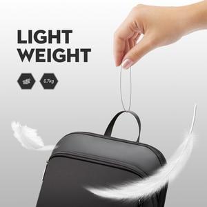 Image 4 - BOPAI Super Slim Laptop Backpack USB Charging Port Men Anti Theft Back Pack Waterproof College Backpacking Updated Version