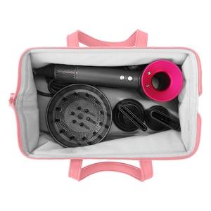 Image 4 - Liboer dyson secador de cabelo saco grande capacidade saco de armazenamento com alça para dyson secador de cabelo portátil caso transporte dustproof organizador
