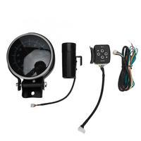 Auto Modification Tachometer with 3 Color Display Motor Meter Signal Alarm Lamp 12V Digital Tachometer New Arrivals