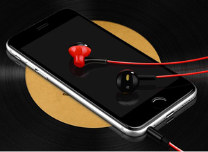 Image 4 - D3 earphone Wired headset with noise cancellation and microphone comfortable stereo  for xiaomi iPhone sony