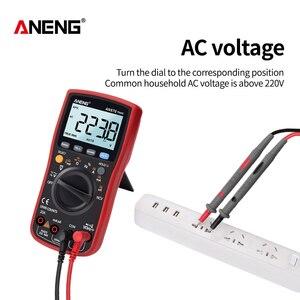 Image 5 - ANENG AN870  Digital Multimeter 19999 Counts True Rms Multimeter Transistor Tester Voltimetro Profesional Capacitance Meter